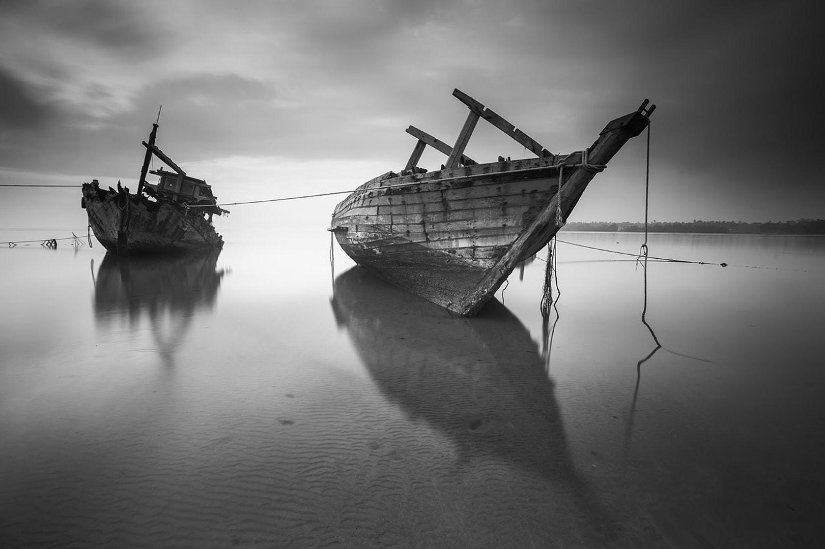 barcos hundidos en menorca