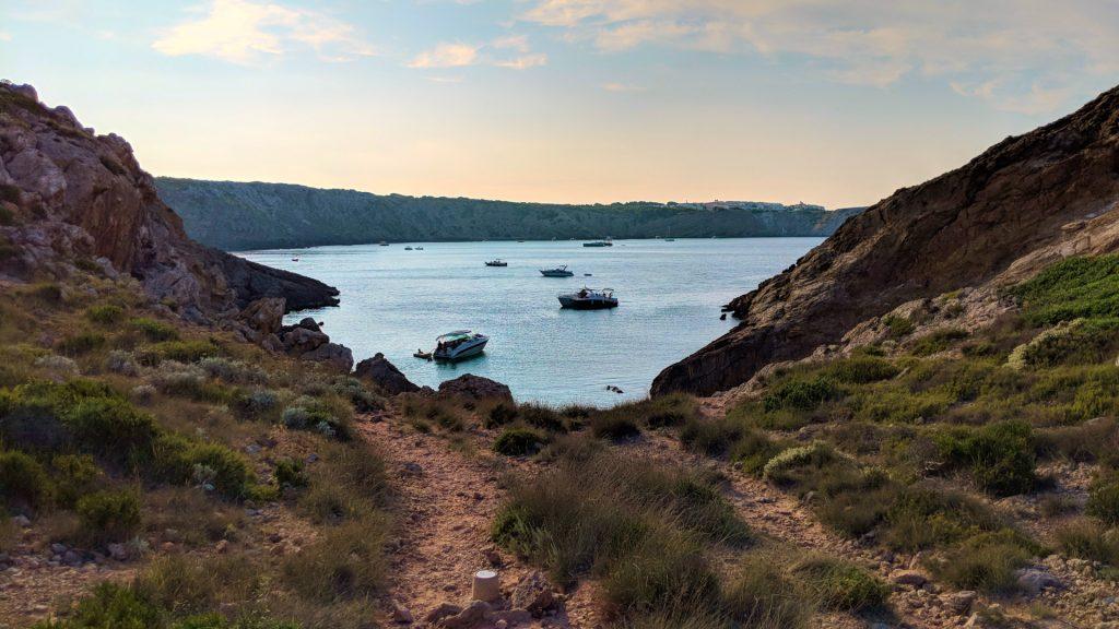 fondeos de Menorca