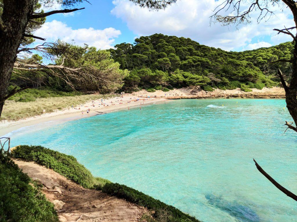 calas del sur de menorca