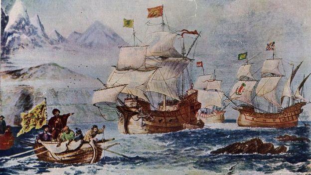 Primera vuelta al mundo en barco