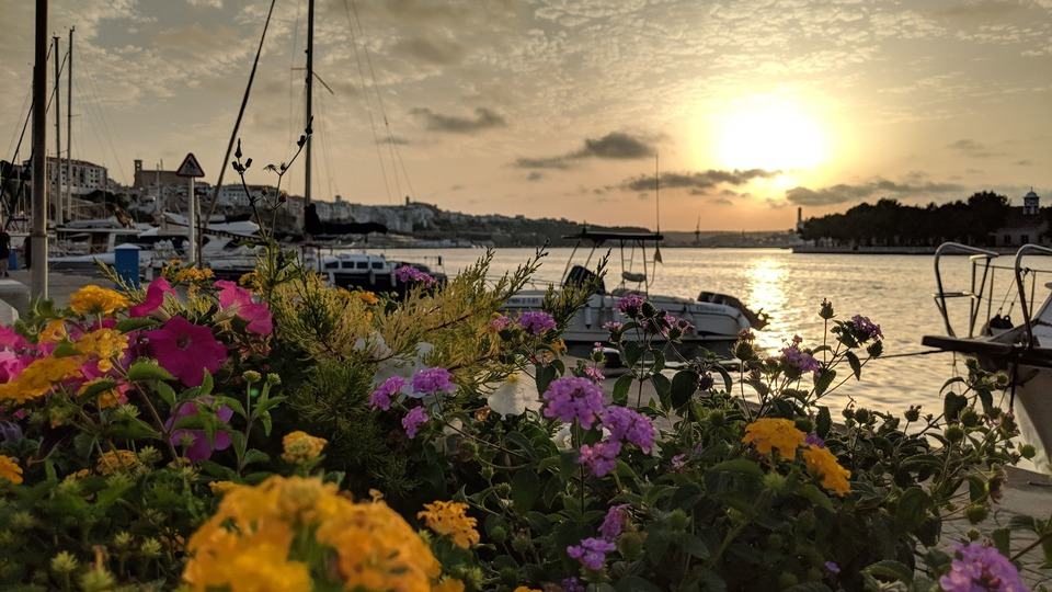 dónde fondear en Menorca